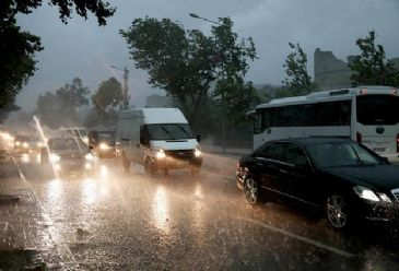 Heavy rain struck Turkey's largest city, the latest example of extreme weather