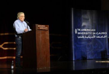 US scholar Noam Chomsky harshly criticized Israel's attack on Gaza