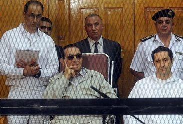 Court judges are expected to hear testimony from Mubarak during Wednesday's court session, according to an Anadolu Agency reporter