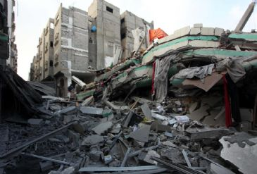Indirect talks between Palestinian and Israeli negotiators aimed at reaching a durable settlement in Gaza Strip started on Monday
