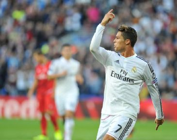 Real Madrid's Portuguese star Ronaldo's brace brings the glory for