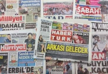 Turkish dailies cover the disarray in Turkish main opposition after the poor results in presidential election against the ruling AK Party's candidate Erdogan, the atrocities by the extremist Islamic State militants against Ezidis in Iraq and the death of Turkish giants Besiktas' legendary president
