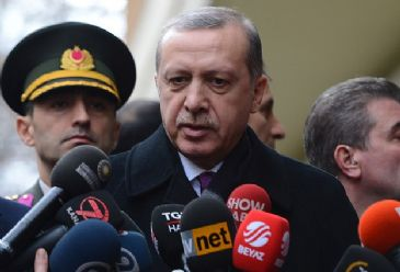 Erdogan said that the president can use the powers granted to him by the Constitution to empower the goverment