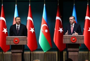 President Erdogan says Turkey and Azerbaijan will boost their strategic importance with the natural gas transportation project