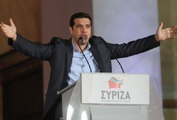 Tsipras' Syriza won 36.3 percent of the vote in Sunday's elections