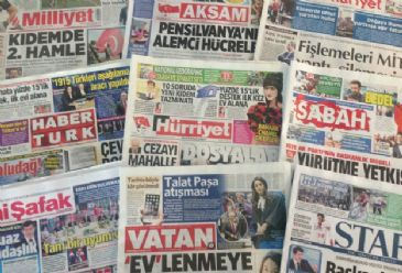 Turkish dailies on Thursday focused on Wednesday's hearing at the European Court of Human Rights on an Armenian 'genocide denial' case plus new labor reforms introduced by the Turkish PM