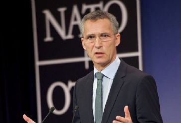 NATO Secretary-General Jens Stoltenberg warns of worsening situation in Ukraine amid worries of split within the alliance
