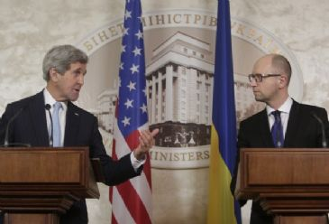The US wants to see a diplomatic resolution of the Ukrainian issue, US Secretary of State says during his visit to the Ukrainian capital