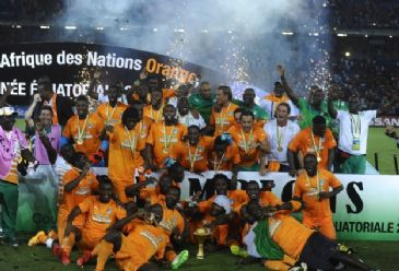 Ivory Coast aka 'Les Elephants' (The Elephants) manage to win the Africa Cup of Nations title after a 22-year break