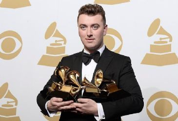 Sam Smith scoops song of the year for 'Stay With Me,' while Beck wins album of the year