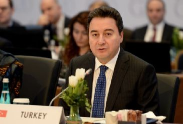 Turkish central bank has authority and responsibility to intervene on exchange rates, Deputy Prime Minister Babacan says