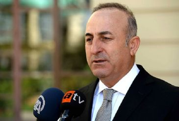 Mevlut Cavusoglu drew attention to support provided to the Kurdish peshmerga forces as well as the solution process for Kurds in Turkey