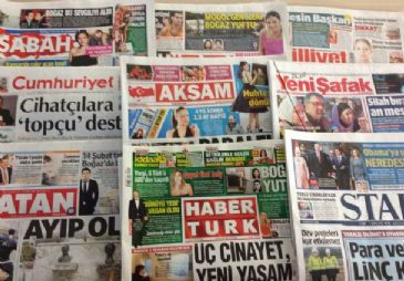 Monday's dailies heavily covered reactions to the brutal killing of a young Turkish woman, Ozgecan Aslan
